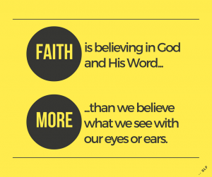 Faith And Belief: It Is Time For Us Christians To Believe In God