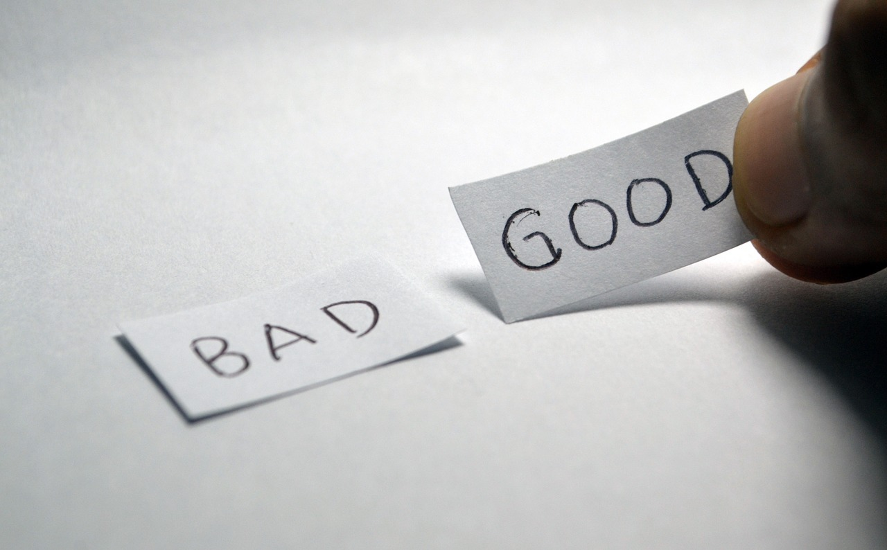 replace bad with good